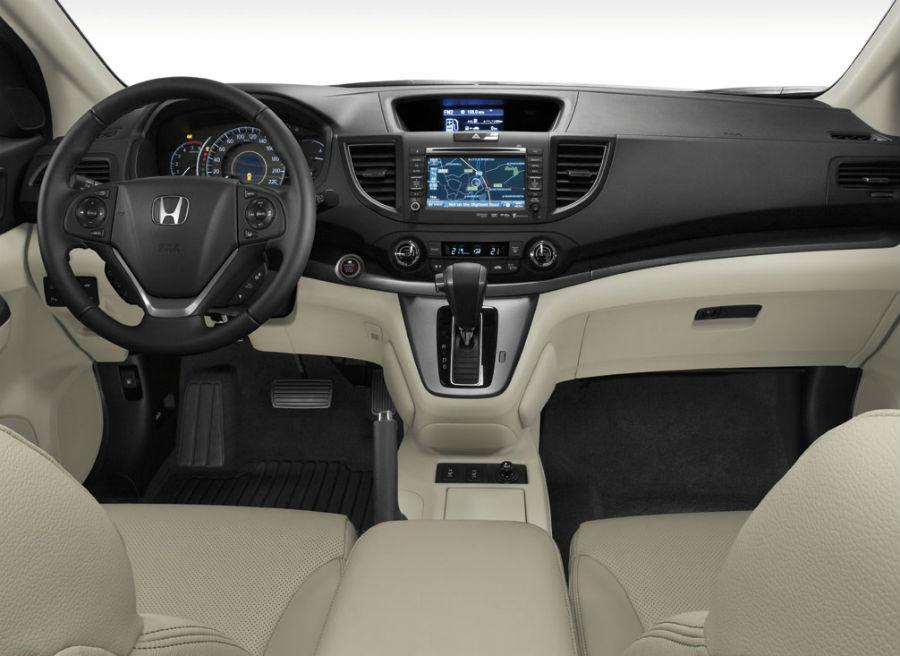 Interior del nuevo Honda CR-V.