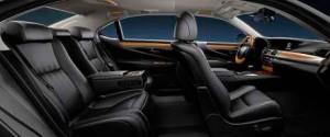 Lexus LS 600 h, asientos