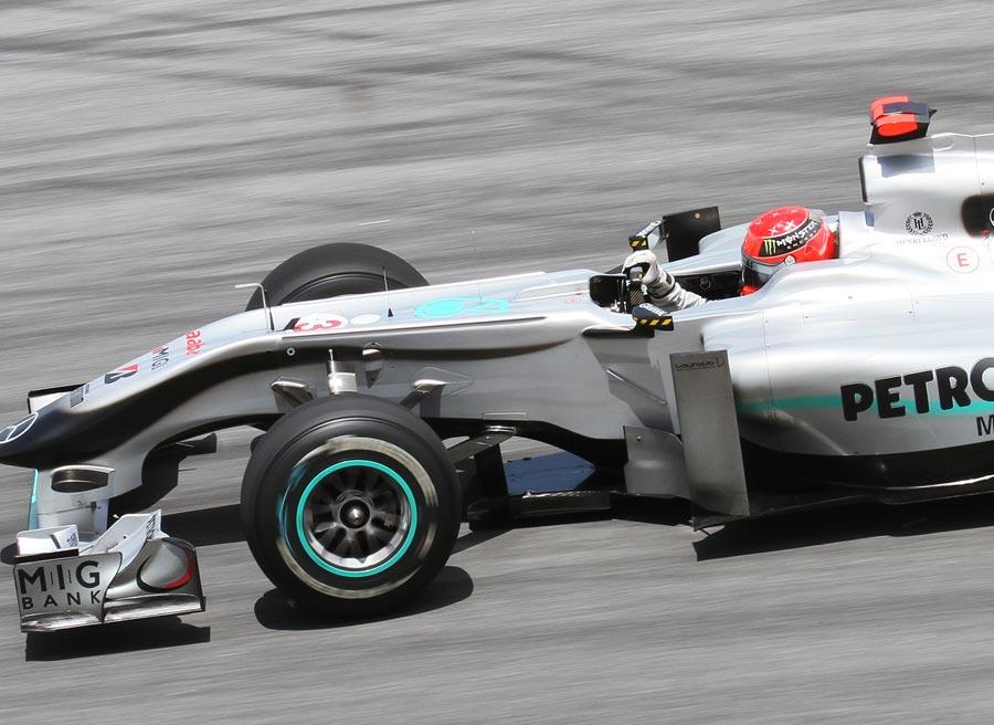 Michael Schumacher volvió a la Fórmula 1 en 2010 con el objetivo de volver a ganar. Foto: Wikimedia commons