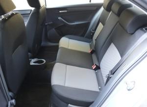 Seat Toledo, asientos traseros