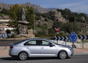 Seat Toledo, lateral