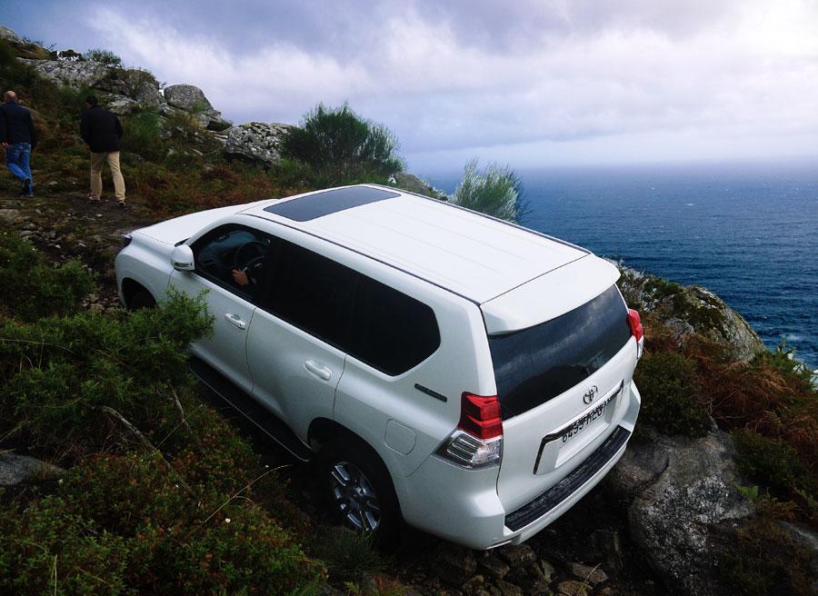Toyota Land Cruiser 60th aniversario, Cabo Silleiro, Rubén Fidalgo