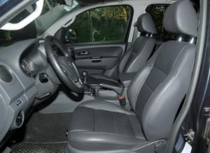 Volkswagen Amarok, asientos delanteros