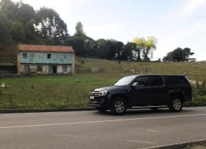 Volkswagen Amarok, carretera