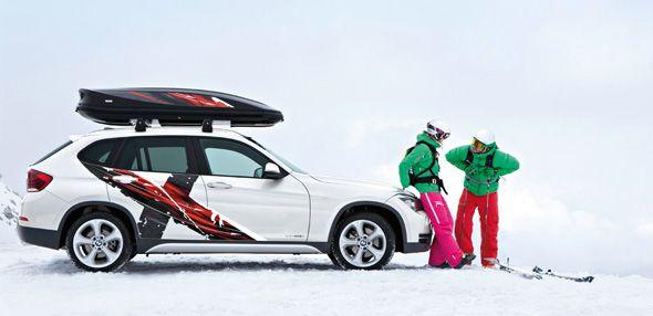 El BMW K2 Concept y el BMW X1 Edition Power Ride adelantan el invierno