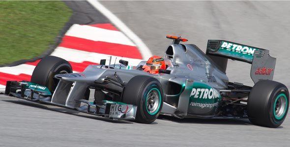 Michael Schumacher, el adiós de un mito