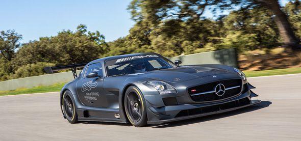 Mercedes SLS AMG GT3 45 aniversario, sólo 5 unidades
