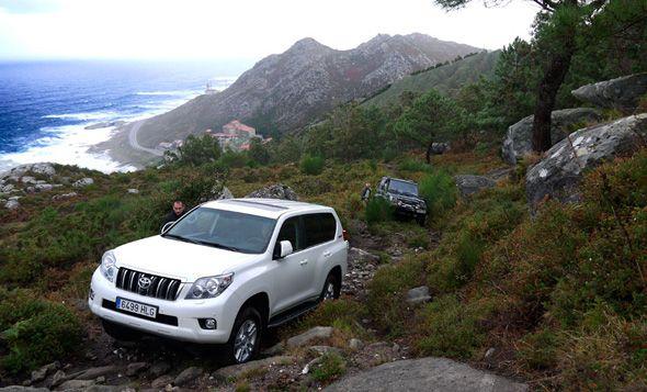 Toyota Land Cruiser D 4D 172 CV Limited, prueba extrema