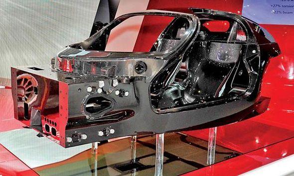 Ferrari Híbrido con 900 CV: primera imagen
