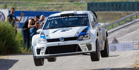 El Volkswagen Polo WRC debuta con éxito de la mano de Carlos Sainz