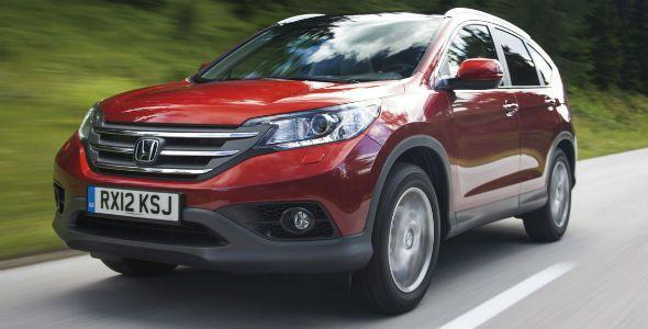 La cuarta generación del Honda CR-V llega a España en noviembre