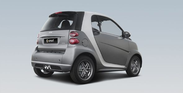 Smart 'grey matt collection': serie limitada a la venta en Internet