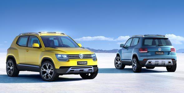 Volkswagen Taigun: nuevo concept