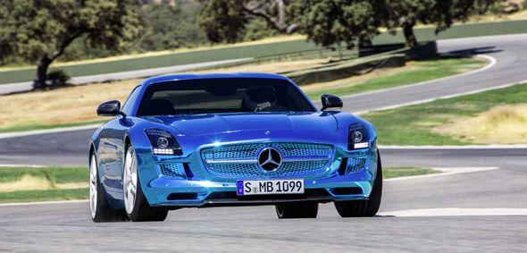 Mercedes SLS AMG Electric Drive: llega en junio