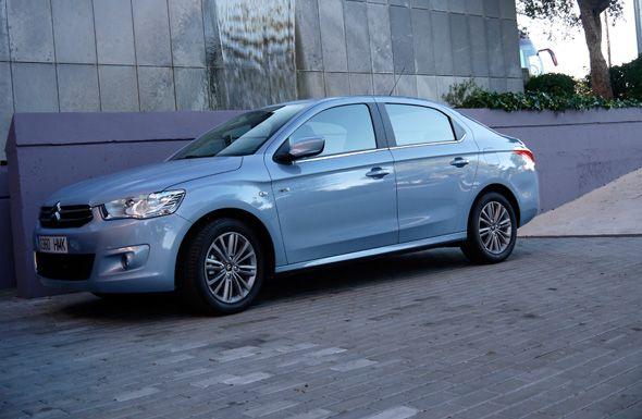 Presentación y prueba del Citroën C-Elysée en España