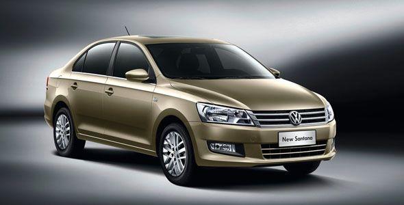 Volkswagen Santana: nueva generación sólo para China