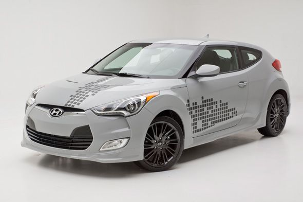El Hyundai Veloster Re:Mix se producirá en serie