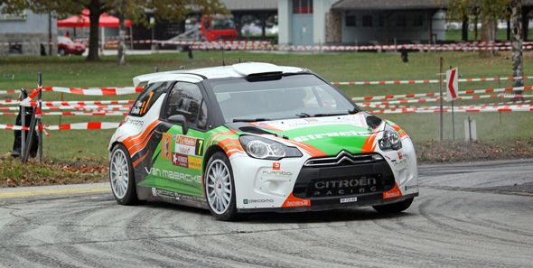 Citroën DS3 RRC: carreras-cliente