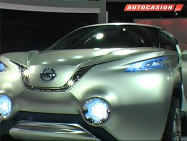 Nissan TeRRA, un concept con pila de hidrógeno