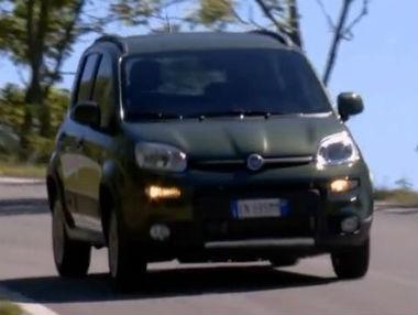 Fiat Panda 4×4 en movimiento