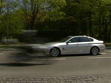 BMW car to X comunication: la interconexión entre vehículos, en vídeo