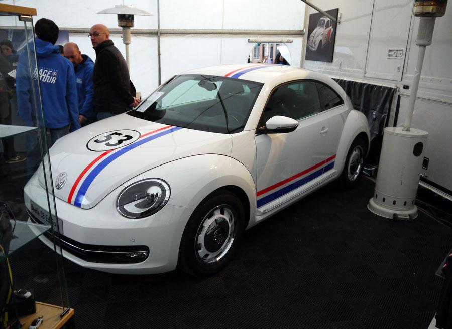 Autocasion.com en el VW Race Tour, Beetle 53, Rubén Fidalgo