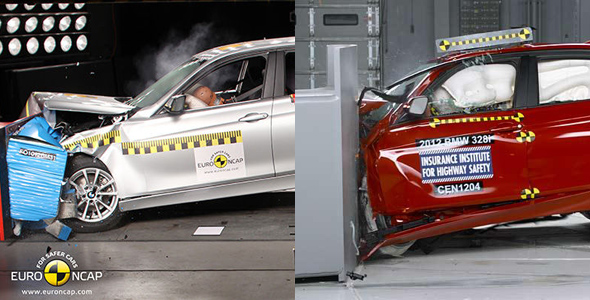 BMW Serie 3 crashtest
