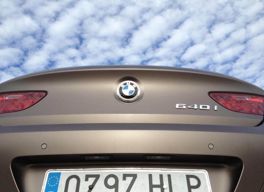 BMW Serie 6 Gran Coupé, un coche que destila grandeza por los cuatro costados.