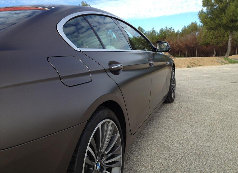 La estética del BMW Serie 6 Gran Coupé mezcla a la perfección clase y agresividad.