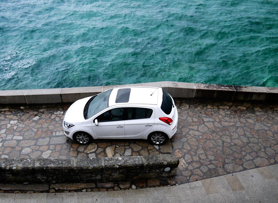 Hyundai i20 1.4 CRDi, Santa María de Oia, Rubén Fidalgo