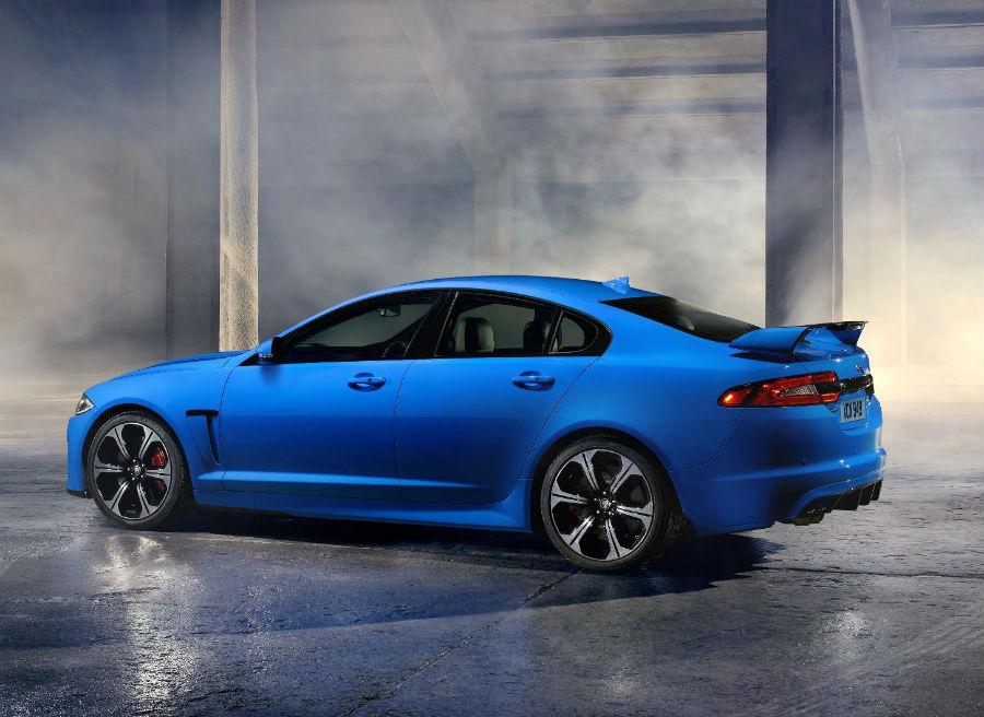 Jaguar ha incorporado unas nuevas llantas de 20 pulgadas al XFR-S.