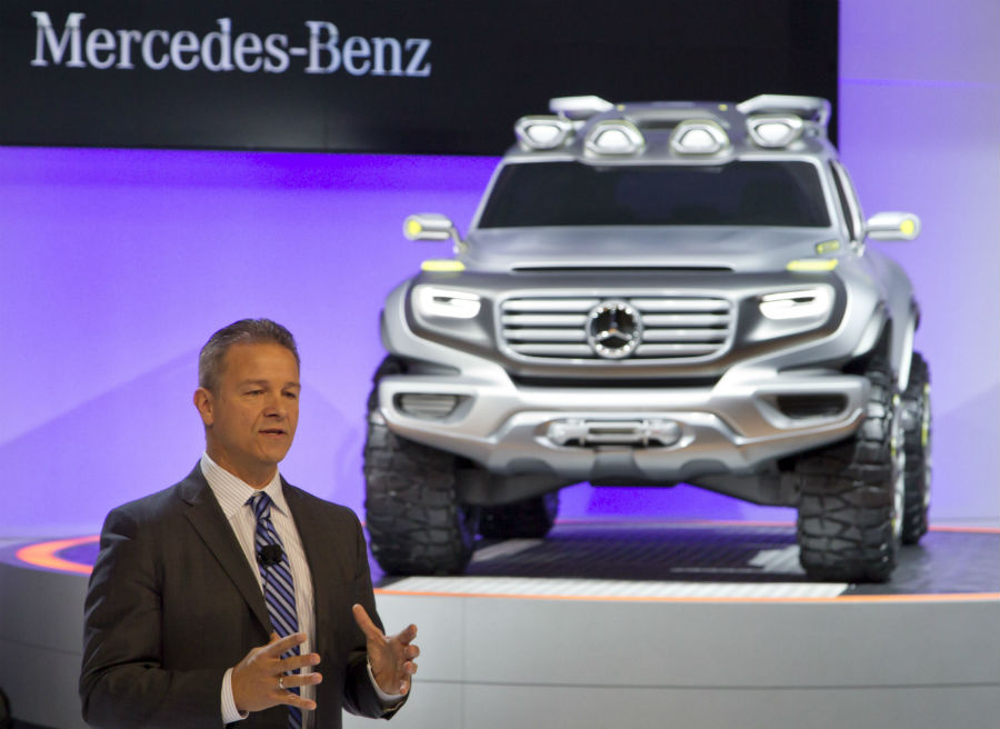 El Mercedes Ener-G-Force ha sido presentado durante el Salón de Los Ángeles.