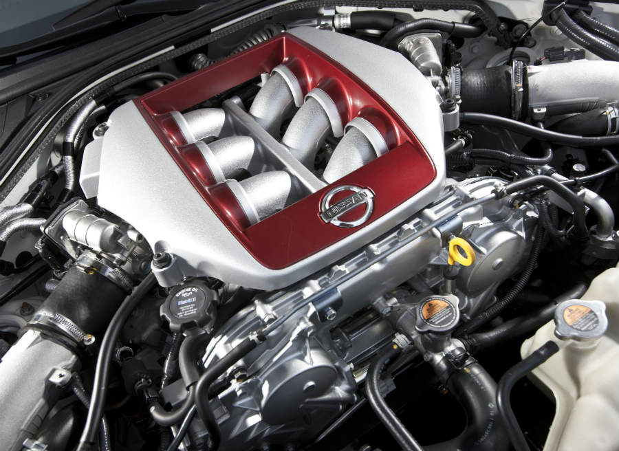 El motor del Nissan GT-R ha sido mejorado.