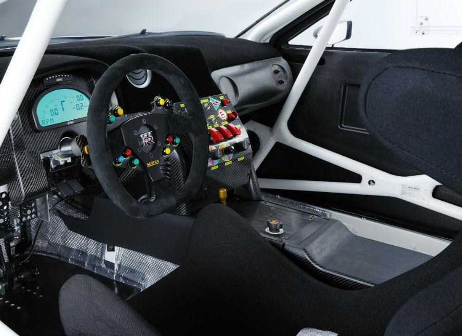 Así es el interior del Nissan GT-R Nismo GT3.