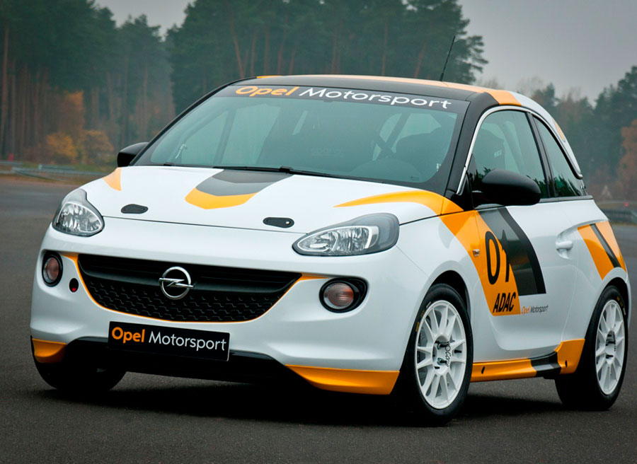Opel Adam de carreras