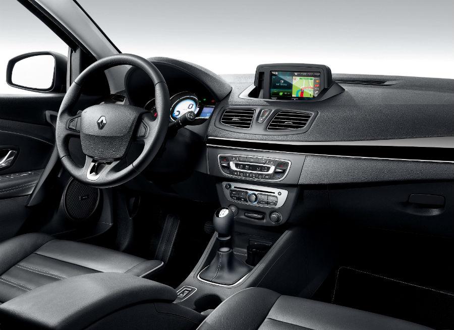 El interior del Renault Fluence ha sido también renovado.