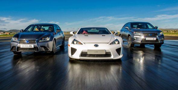 Probamos la gama deportiva Lexus F Sport