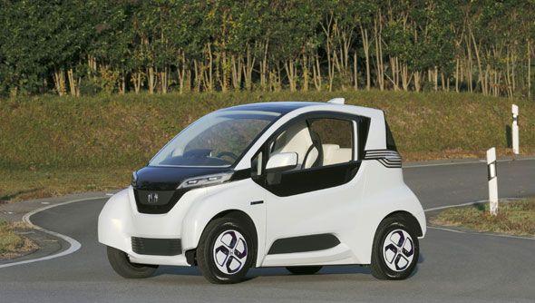 Honda Micro Commuter Prototype: el micro-eléctrico