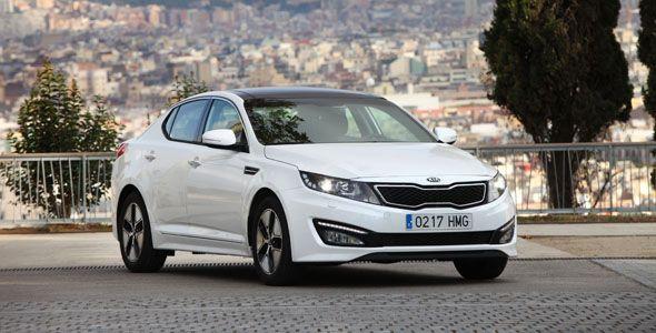 Kia Optima Híbrido, a la venta por 34.705 euros