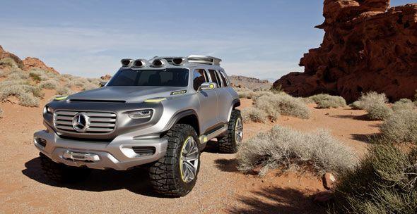 Mercedes Ener-G-Force: el 4×4 del futuro