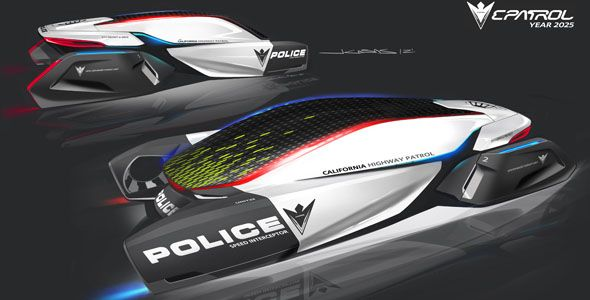 BMW ePatrol: ¿el coche de la policía en 2025?