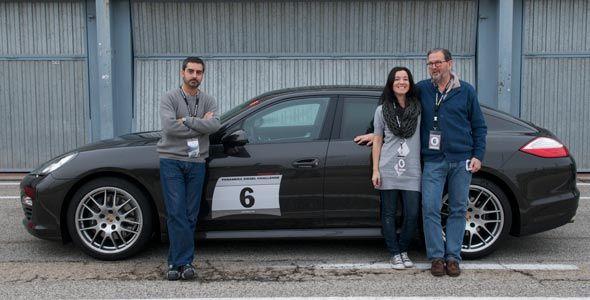 Autocasion.com, en la Panamera Diésel Challenge