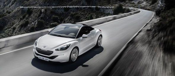 El renovado Peugeot RCZ Sport Coupé llegará en enero a los concesionarios británicos
