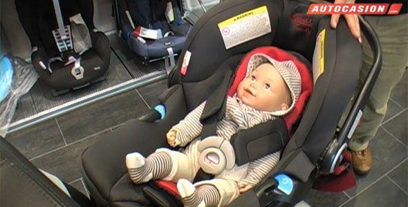 Casi el 40% de las sillas infantiles en los coches se utilizan mal