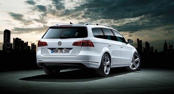 Volkswagen introduce las versiones R-Line en la gama del Passat, Passat Variant y Volkswagen CC