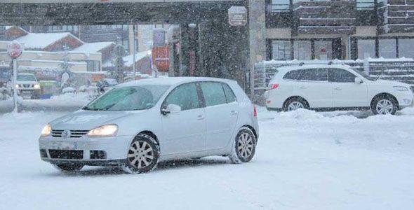 Fomento ya está preparado para combatir la nieve en las carreteras