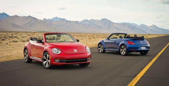 Nuevos Volkswagen Beetle Cabrio y Jetta Hybrid en el Salón de los Ángeles