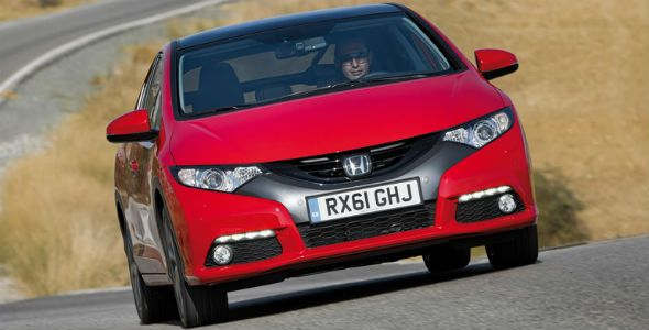 Honda Civic 2012: nuevo motor diésel con 94 g/km CO2