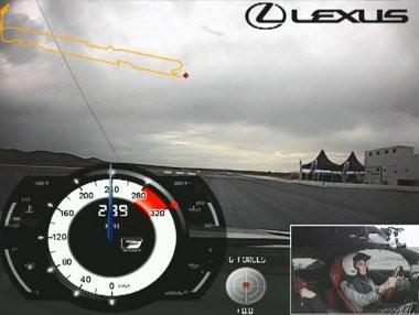 Probamos el Lexus LFA