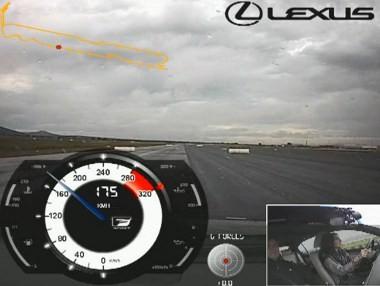 Al volante del Lexus GS 450h F Sport